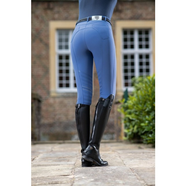 Ladies Breeches Limoni PAM Horse with Silicone Knee Patch