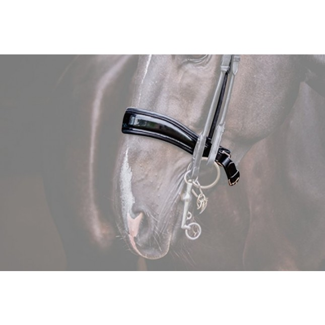 PS of Sweden Noseband Passag, lacquered