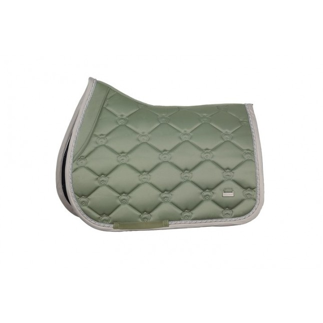PS of Sweden Saddle Pad Monogram Seagrass Jump