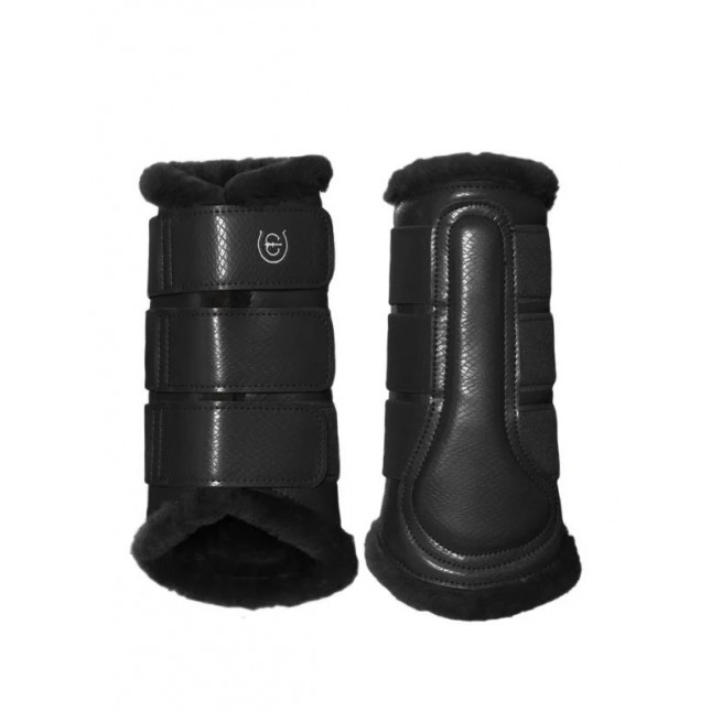 Equestrian Stockholm Brushing Boots Black Edition