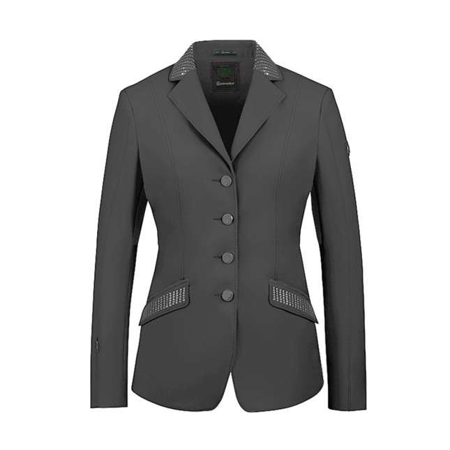 Estoril Pro Sequin Show Jacket - Graphite