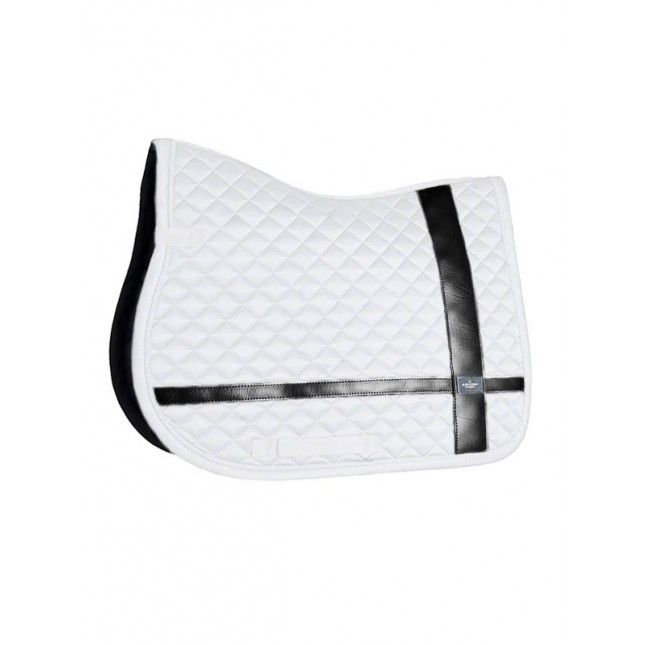 Jump Saddle pad No Boundaries White
