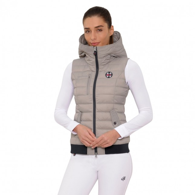 Jana Gilet - Light Taupe