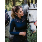 Equestrian Stockholm Champion Top Long Sleeve Navy