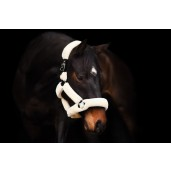PS of Sweden Fluffy halter + lead rope, Cream