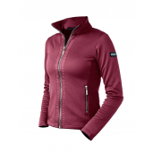 EQUESTRIAN STOCKHOLM FLEECE JACKET WINTER ROSE