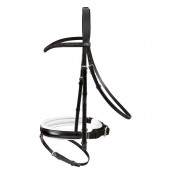 Passier Apollo Snaffle Bridle - Black/White