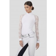 Lace Attraction Long Sleeve Competition Shirt