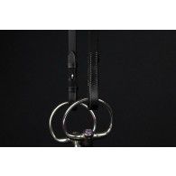 PS of Sweden Cheek Pieces flat with selectable cradles™ and french hook W