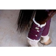 PS of Sweden Dressage Boots, Prune, hind leg