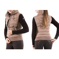 PS of Sweden Riding Vest, Christina, Ice Coffee