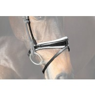 PS of Sweden Noseband GP, black / lacquered
