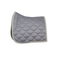 PS of Sweden Saddle Pad Monogram Minimal Grey Dressage