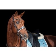 PS of Sweden Double Bridle, GP lacquered
