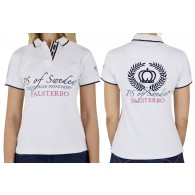 PS of Sweden Polo T-Shirt, Abigail, white