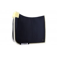 PS of Sweden Dressage saddle pad, Navy, PRO, COB