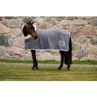 PS of Sweden Fleece blanket, Charcoal