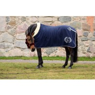 PS of Sweden Fleece blanket, Deep Sapphire