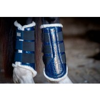 PS of Sweden Dressage Boots, navy, hind leg