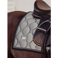 Dressage Saddle Pad Crystal Grey