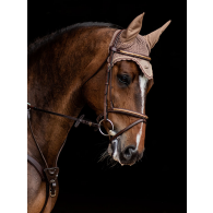 Equestrian Stockholm Ear Net Champagne