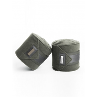 Equestrian Stockholm Fleece Bandages Olive