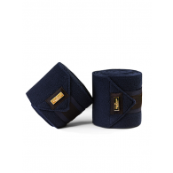Equestrian Stockholm Fleece Bandages Royal Classic