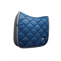 Equestrian Stockholm Dressage Saddle Pad Moroccan Blue COB