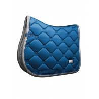 Equestrian Stockholm Jump Saddle Pad Moroccan Blue Pony
