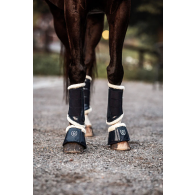 Equestrian Stockholm Bell Boots Navy