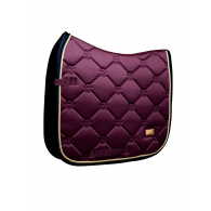 Equestrian Stockholm Dressage Saddle Pad Purple Gold COB
