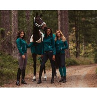 Equestrian Stockholm Riding Socks Emerald