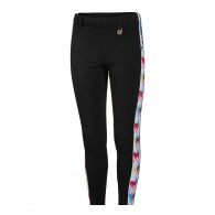 Royal Highness Girl's Knee Patch Riding Tights w/Trim
