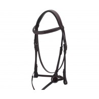 Royal Highness Padded Figure 8 Fancy Stitch Bridle