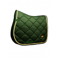 Equestrian Stockholm Jump Saddle Pad Forest Green Pony