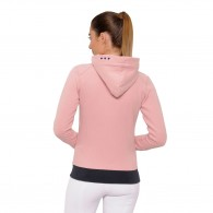 Anne Hooded Jacket - Rose Pink