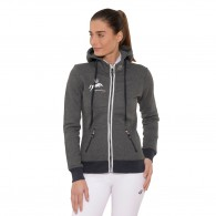 Anne Hooded Jacket - Dark Grey