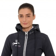 Anne Hooded Jacket - Navy