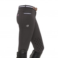 Leena Knee Grip Breeches - Dark Grey