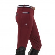 Leena Knee Grip Breeches - Bordeaux