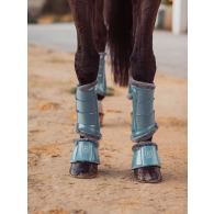 Equestrian Stockholm Bell Boots Steel Blue