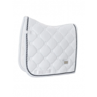 Equestrian Stockholm Dressage Saddle Pad White Perfection