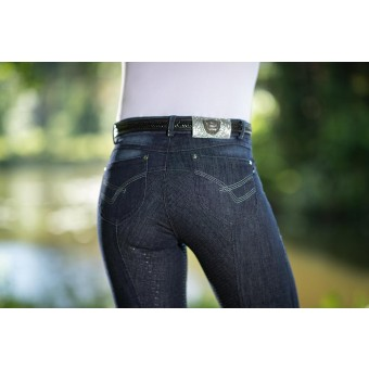Limoni Denim Breeches with Full Silicone Seat