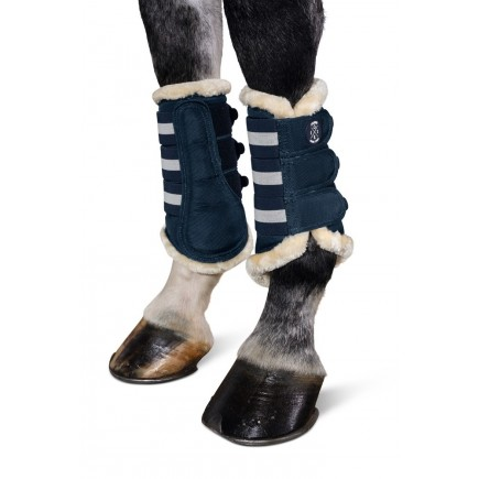 ESKADRON FAUX FUR TENDON BOOTS SS19