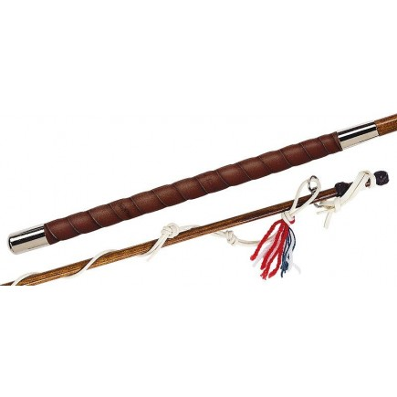Fleck Willow, Lacquered, Leather-Grip