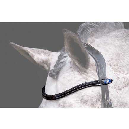 PS of Sweden Browband U-Shape White Stitching