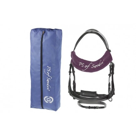 PS of Sweden Bridle bag & Browband cover, Wine