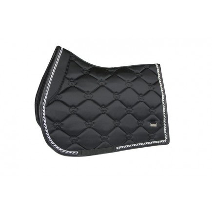 PS of Sweden Saddle Pad Monogram Onyx Jump