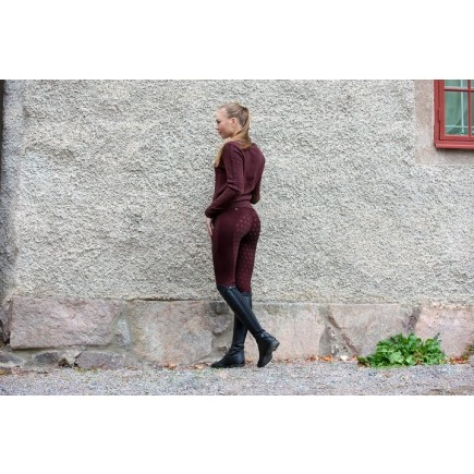 PS of Sweden Breeches, Mathilde, Merlot