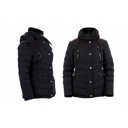 PS of Sweden Riding Jacket, Virginia, Black Onyx